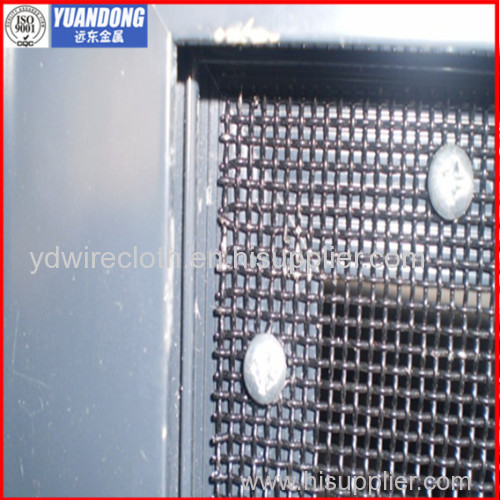 black powdered stainless steel safety screen(factory price)
