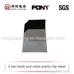 Black Plastic Slip Sheet for Slipping