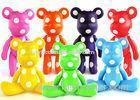 Colorful POPOBE Bear Set Personalized Bear Gifts for Business Promotion
