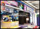 Professional 6D Local Movie Theaters with 3D Glasses , Hydraulic Platform