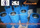 PN25 Cast iron Dual Plate Check Valve / Industrial Butterfly Check Valve DN40 ~ DN800