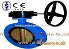 API Double Flanged U Type Butterfly Valve / Electric Stainless Steel Butterfly Valves
