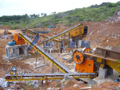 Good Sand mining pellet production line design