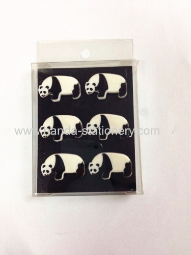 New style fashion bear shape cute colorful custom fridge magnets