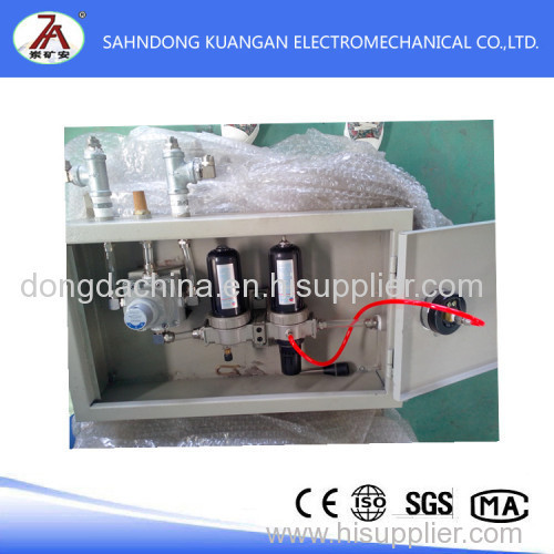 Pneumatic mining products Gas control box