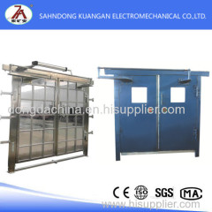 No Pressure Ventilation Door