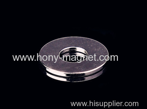 Countersank N50 Ring NdFeB Magnet for Hardware Tool