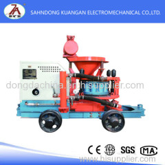 wet type mining cement spray machines