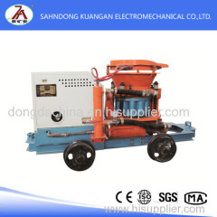 Mining shotcrete spray machine