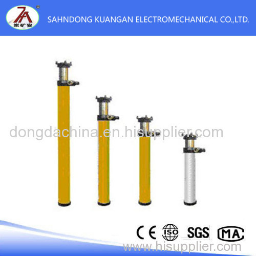 Suspension single supporting hydraulic prop