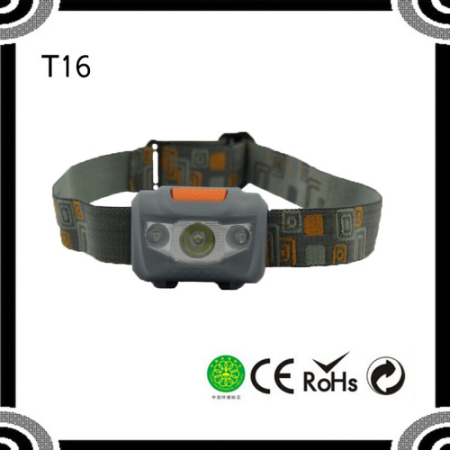 New Promotion Factory Price with 4 brightness level High Power red Led Headlamp POPPAS- T16