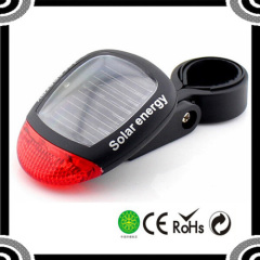 Solar Energy 70mm Length Lightweight Rear Bike Bicycle Tail Light S60