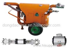 Mining pneumatic desilting sewage pump