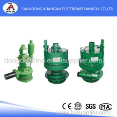 Mine pneumatic submersible pump