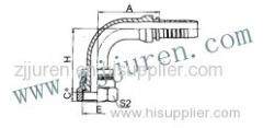 BSP Female Hydraulic Hose Fittings 22191 by CNC machine