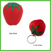 Anti stress Squeeze Toy Strawberry and Strawberry Keychain