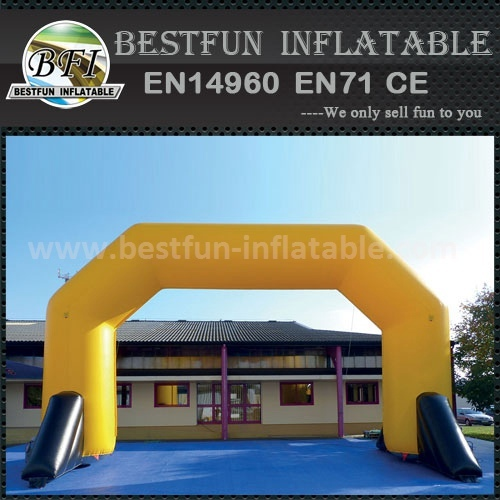Custom size inflatable truss arch for race
