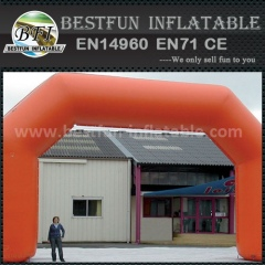 Durbale and attractive inflatable angle archway color logo size customized