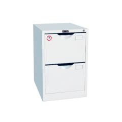 Anti-tilt design vertical 2 drawer steel file cabinet