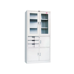 Hot sale patent handle completely Knock Down Steel file Cabinet, KD Structure Cupboard