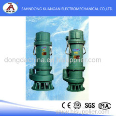 The flameproof submersible electric pump