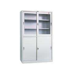 Half glass door drawer filing cabinet