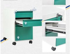 Office furniture movable mobile pedestal metal drawer cabinet