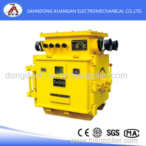 Mining explosion-proof and intrinsically safe vacuum electromagnetic starter