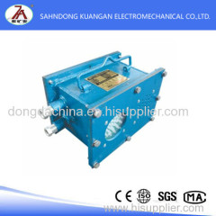 Mine intrinsically safe sound and light alarm box from china