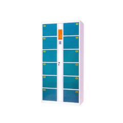 supermarket electronic storage locker with safe lock