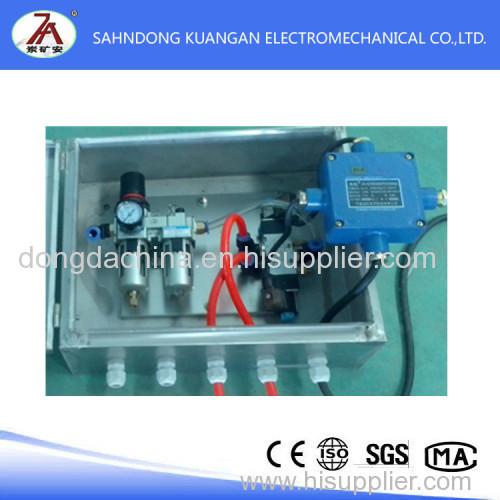 Mine intrinsically safe pneumatic solenoid valve