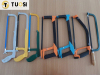 different types of adjust hacksaw frame chrome/paint sprayed/plastic sprayed