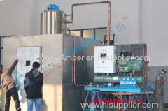 Commercial CE approved Snow Amber 5ton seawater flake ice machine