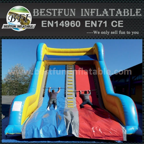 Inflatable ladder climb game