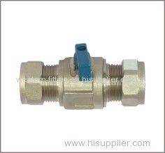 Brass Ball Valve Compression End
