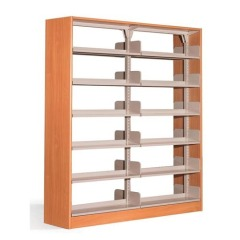 Two Section Metal Book Shelf