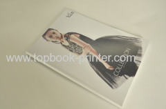 250gsm ivory board cover clothing manual design softback book