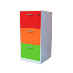 China manufacturer steel filing cabinet and vault with 3 drawer