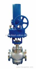 temperature shut off control valve