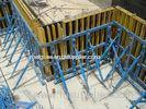 Custom High Security Civil Formwork , Structure concrete wall formwork
