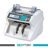 Front loading money counter UV/MG/DD/IR detecting