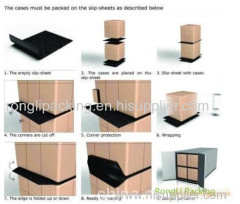 craft plastic slip sheet transport slip sheet