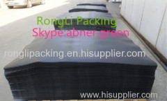 black plastic slip sheet