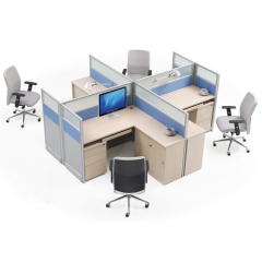 Factory customize office furniture, cross workstation,cross office partition