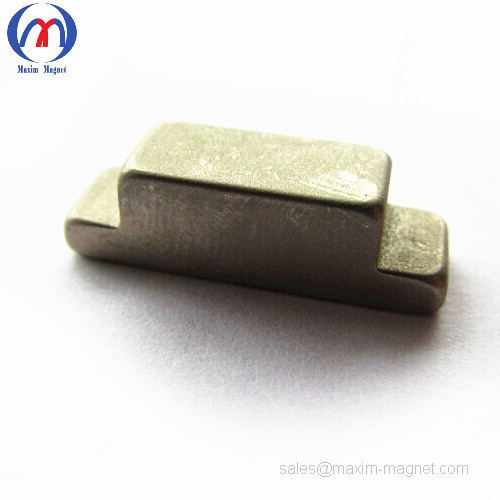 Neodymium stepped magnets in podium shape