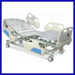 Plastic Coating frame Electric medical bed can weighing