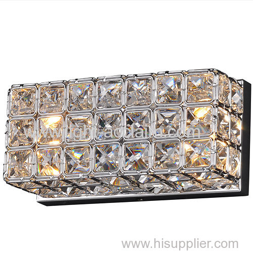 New hardware popular crystal wall lamp for sale