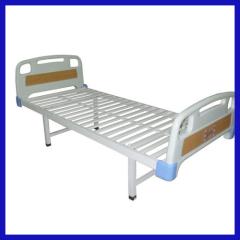 Plastic-steel frame Manual Hospital bed