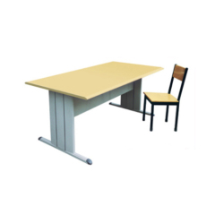 Commercial Library Reading Table Reading Desk For School