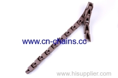 Straight run plastic case conveyor chain N250